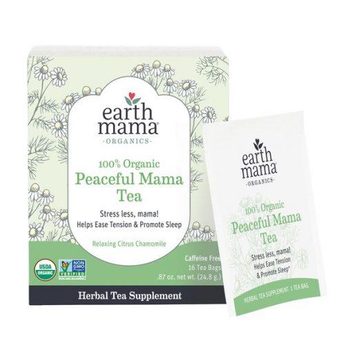 Peaceful Mama Tea by Earth Mama