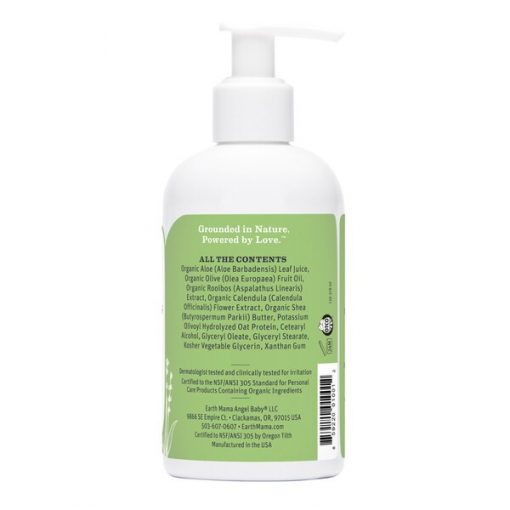 8oz Earth Mama No-Scent Baby Lotion
