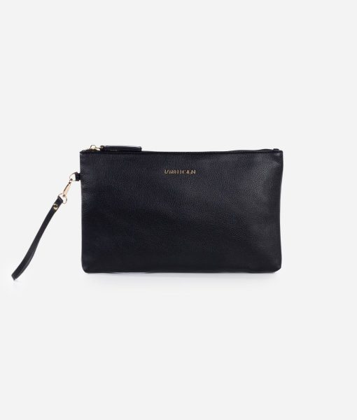 Fawn Design Vegan Leather Changing Clutch with Changing Pad and Wipes Case