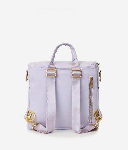 Lilac Fawn Design Mini Backpack Rear View