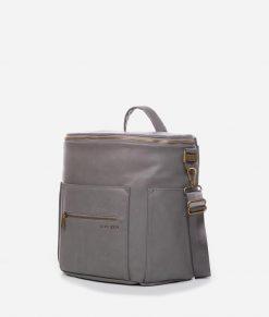 Stone Mini Diaper Bag by Fawn Design