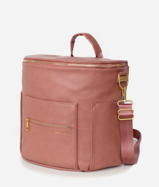 Fawn Design Large Dusty Rose Diaper Bag SS20