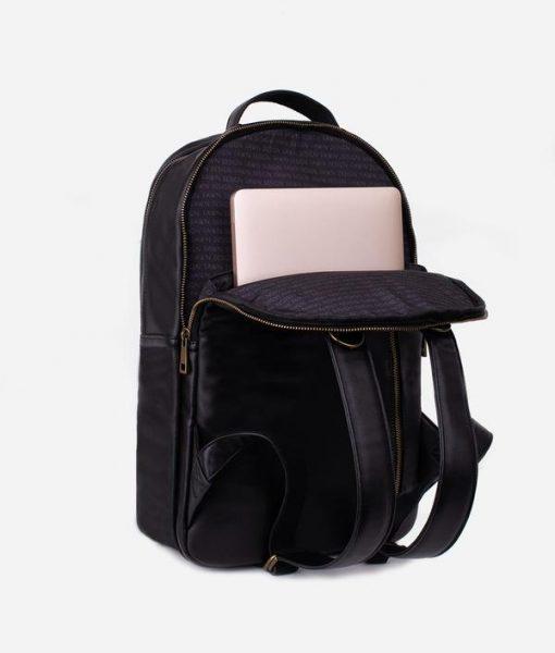 Black Fawn Diaper Bag Backpack 4