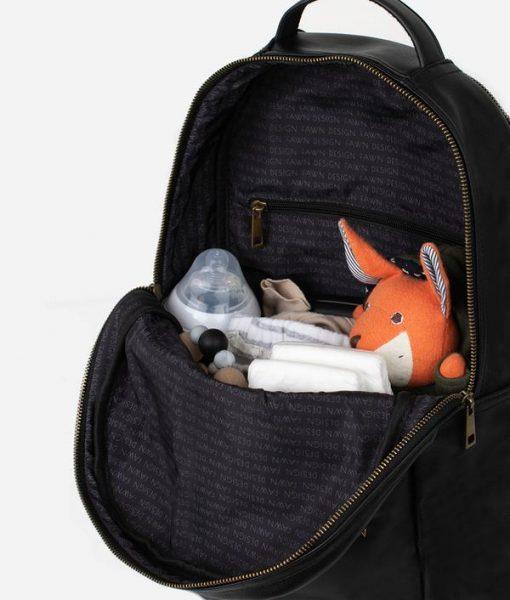 Black Fawn Diaper Bag Backpack 5