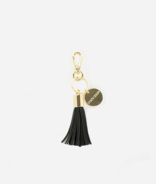 Fawn Design Tassel Keychain Accessory