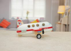 Wooden plane side view