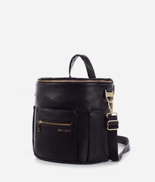 Fawn Design The Mini Vegan Leather Diaper Bag