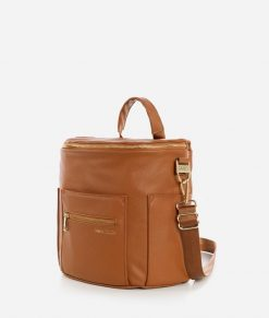 Brown Mini Fawn Diaper Bag Available at Blossom