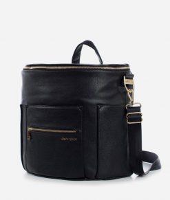 Vegan Leather Diaper Bag