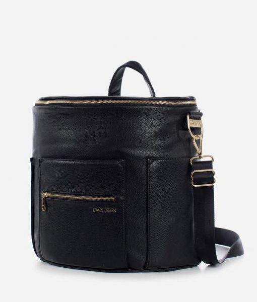 Vegan Leather Diaper Bag