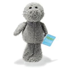 Standing Up Albert the Confused Manatee Plush