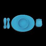 First Foods Set by ezpz in Blue