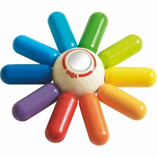 Rainbow Sun Clutching Toy