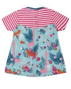 Lilly+Sid Safari Theme Organic Mix Dress