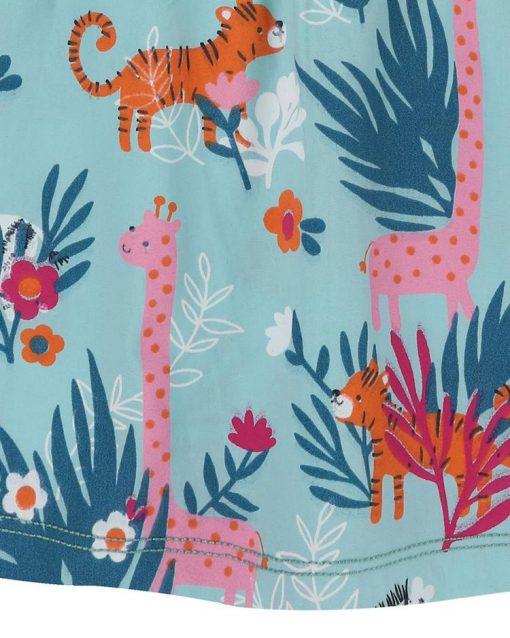 Organic Collection Safari Print Dress