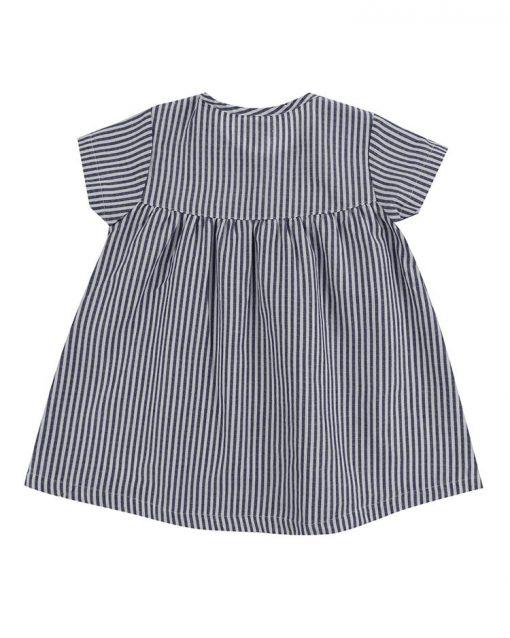 Applique Hem Dress Safari Pattern Lilly + Sid