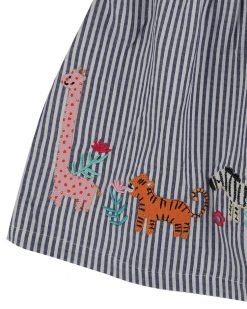 Striped and Safari Baby Dress from Lilly + Sid