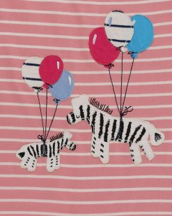 Organic Collection Zebra Romper Lilly & Sid