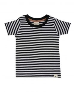Turtledove London 3 Pack of Tops Black Stripe