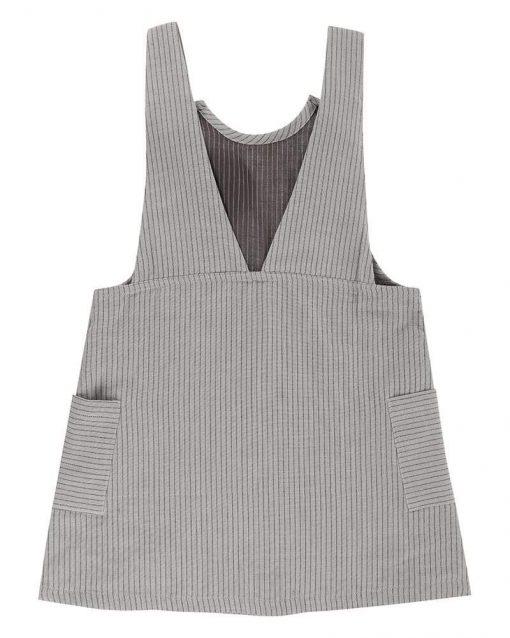 Organic Stripe Baby and Toddler Dress