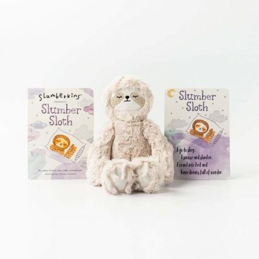 Slumberkins Slumber Sloth Kin in Hazel