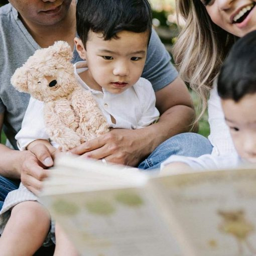 Honey Bear Slumberkins Snuggler and Board Book