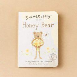 Slumberkins Honey Bear Board Book