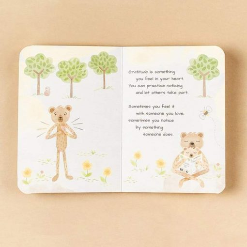 Board Book for Gratitude by Slumberkins