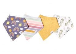 Copper Pearl Hope Bandana Bib Set 4-Pack