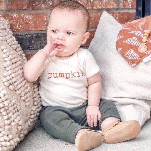 Organic Pumpkin Bodysuit Halloween