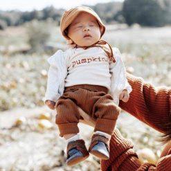 Pumpkin Fall Onesie for Babies