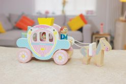 Princess Carriage with Prince and Princess and Horse by Indigo Jamm
