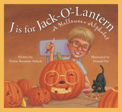 J is for Jack-O-Lantern: A Halloween Alphabet