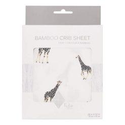 Kyte Baby Crib Sheet in Giraffe