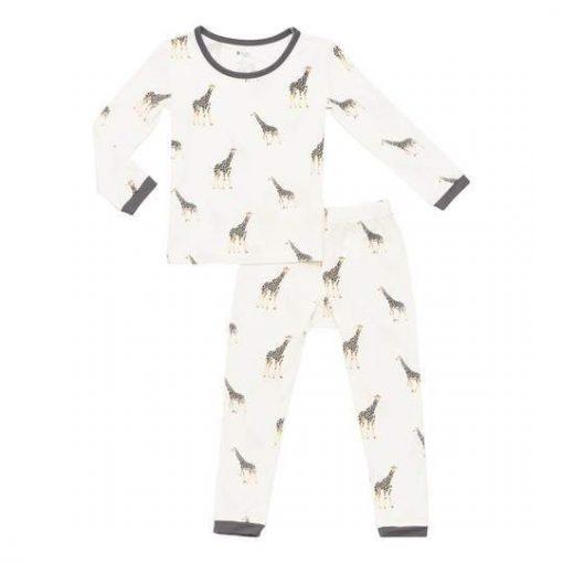 Kyte BABYToddler Pajama Set In Giraffe