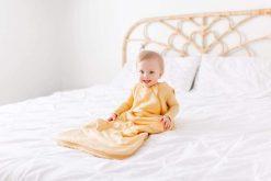 Honey Yellow Sleep Sack for Babies and Toddlers Medium-Weight