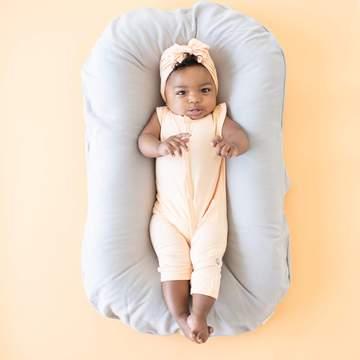 Kyte Baby Papaya Sleeveless Romper Bamboo