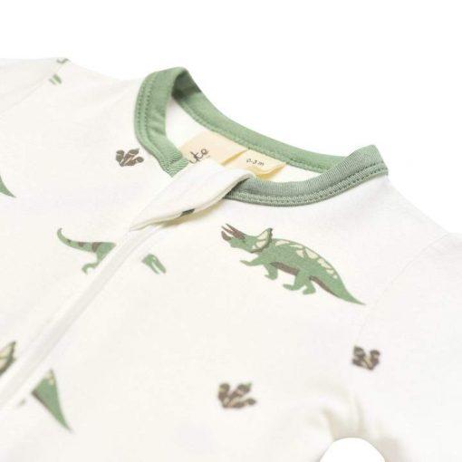 Dinosaur Print Footie Sleeper Kyte Baby