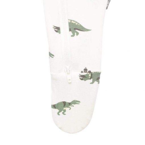 Kyte Dinosaur Zippered Footie