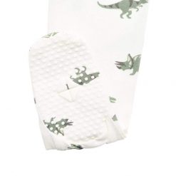 Zippered Footie in Dino by Kyte Baby