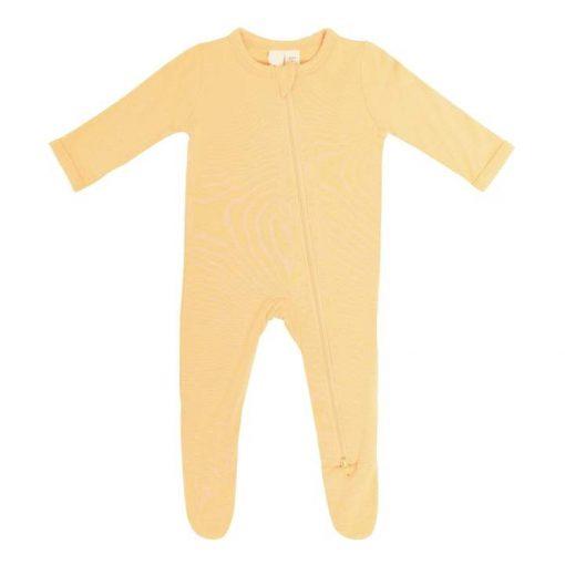 Kyte Baby Bamboo Zippered Footie Sleeper in Honey