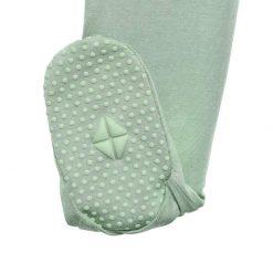 Matcha Green Zippered Footie Sleeper Kyte
