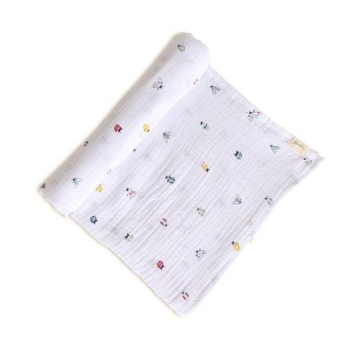 Pehr Love Bug Swaddle Blanket