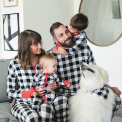Little Sleepies Bamboo Viscose Buffalo Plaid Two-Piece Pajama Set