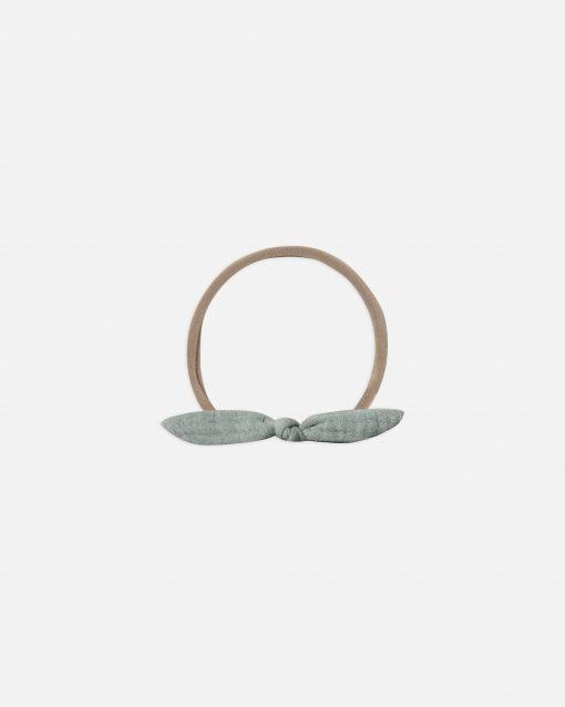 Quincy Mae Little Knot Headband in Ocean Blue