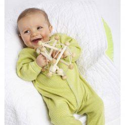 Strings Sliding Beads Skwish Baby Toys