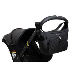 Comfortable midnight Car Seat & Stroller by Doona