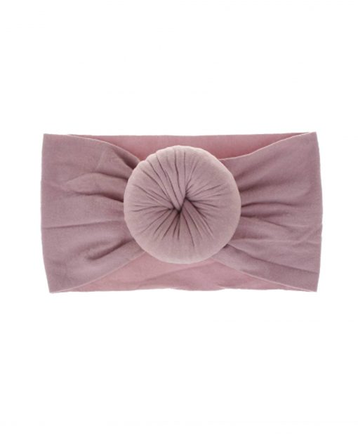 Emerson and Friends Mauve Bun Headband
