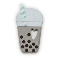 Loulou LOLLIPOP Milk Tea Bubble Tea Silicone Teether