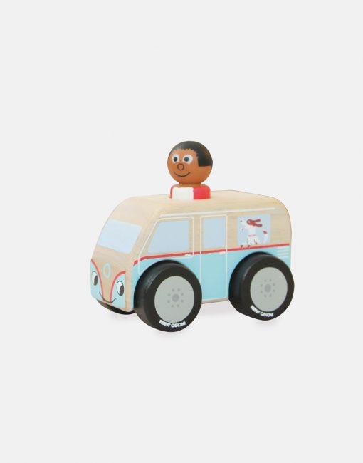 Indigo Jamm Mini Colin Camper Van & Joe